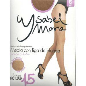 Media Con Liga De Blonda Ysabel Mora 14201