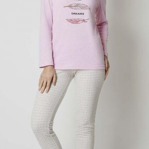 Pijama M/ Larga Lady Belty Mod. 0140K