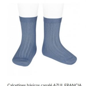 Calcetín Corto Canalé CONDOR Mod. 2016-4