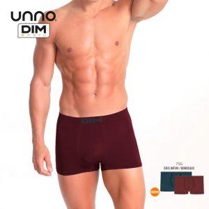 Pack 2 Boxer UNNO By DIM Micrifibra Mod. 5HH