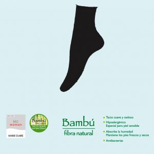 Pack 3 Calcetines Mujer Bamboo De Marie Claire